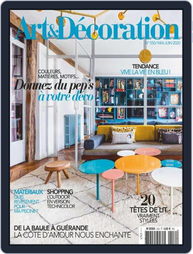 Art & Décoration May 1st, 2020 Digital Back Issue Cover