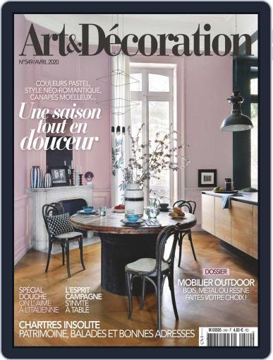 Art & Décoration April 1st, 2020 Digital Back Issue Cover