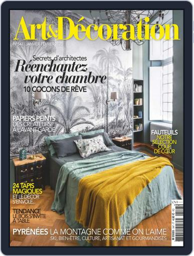 Art & Décoration January 1st, 2020 Digital Back Issue Cover