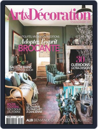 Art & Décoration November 1st, 2019 Digital Back Issue Cover