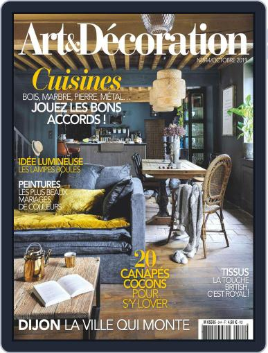 Art & Décoration October 1st, 2019 Digital Back Issue Cover