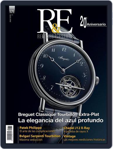 R&e-relojes&estilográficas (Digital) March 1st, 2020 Issue Cover