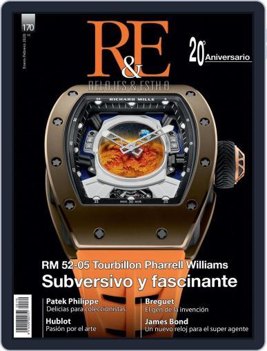 R&e-relojes&estilográficas (Digital) January 1st, 2020 Issue Cover