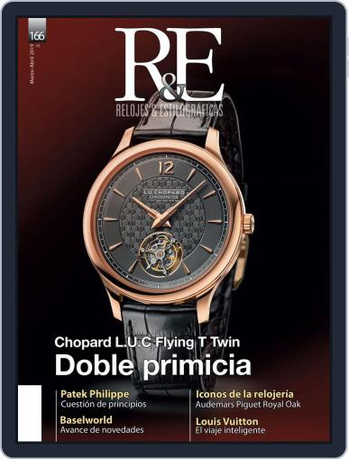 R&e-relojes&estilográficas (Digital) March 1st, 2019 Issue Cover