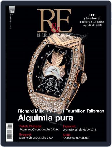 R&e-relojes&estilográficas (Digital) January 1st, 2019 Issue Cover