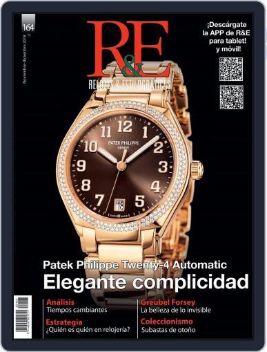 R&e-relojes&estilográficas (Digital) November 1st, 2018 Issue Cover