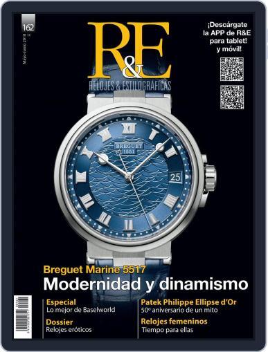 R&e-relojes&estilográficas (Digital) May 1st, 2018 Issue Cover