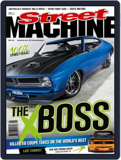 Street Machine April 20th, 2016 Digital Back Issue Cover