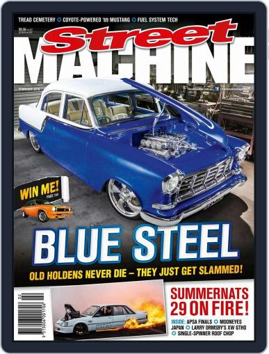 Street Machine January 27th, 2016 Digital Back Issue Cover