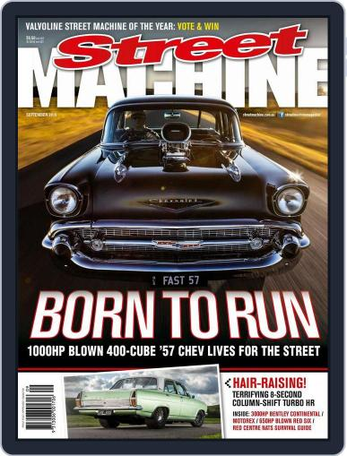 Street Machine August 19th, 2015 Digital Back Issue Cover