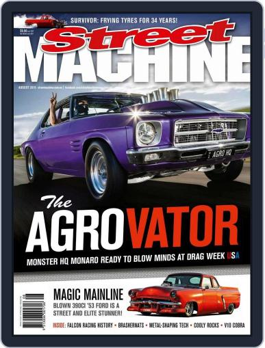 Street Machine July 14th, 2015 Digital Back Issue Cover