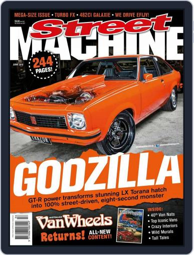 Street Machine May 20th, 2015 Digital Back Issue Cover