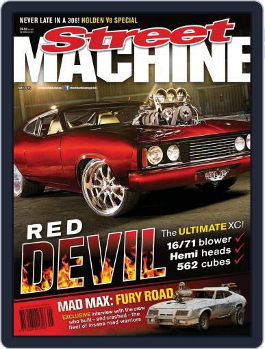 Street Machine April 15th, 2015 Digital Back Issue Cover
