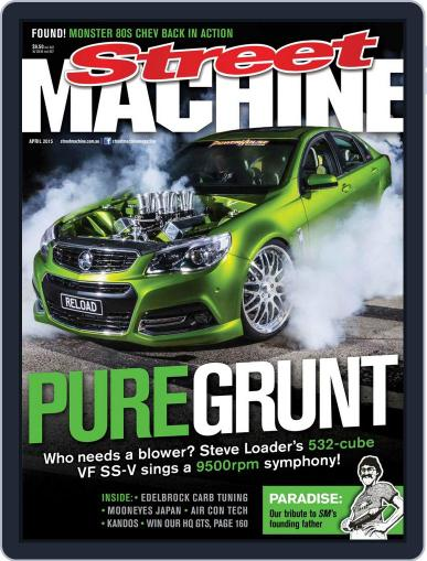 Street Machine April 1st, 2015 Digital Back Issue Cover