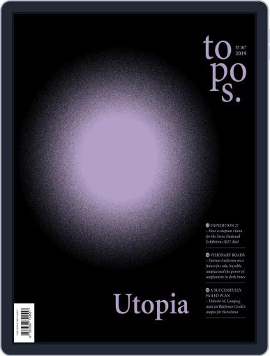 Topos (Digital) May 30th, 2019 Issue Cover