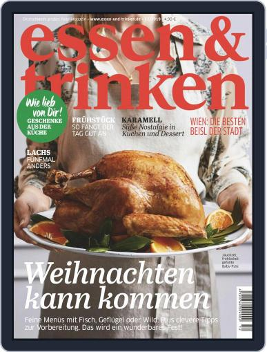 essen&trinken (Digital) December 1st, 2019 Issue Cover
