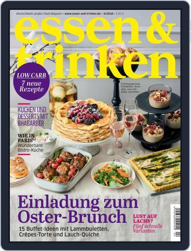 essen&trinken (Digital) April 1st, 2018 Issue Cover
