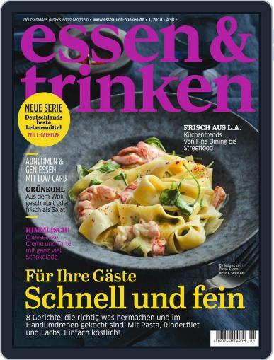 essen&trinken (Digital) January 1st, 2018 Issue Cover