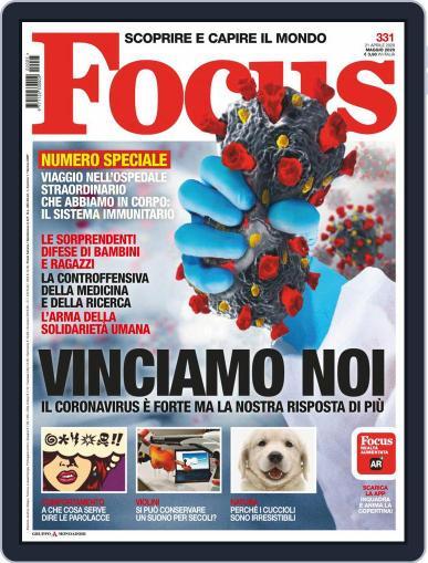 Focus Italia (Digital) May 1st, 2020 Issue Cover