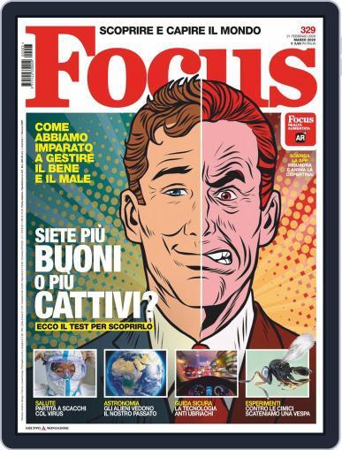 Focus Italia (Digital) March 1st, 2020 Issue Cover