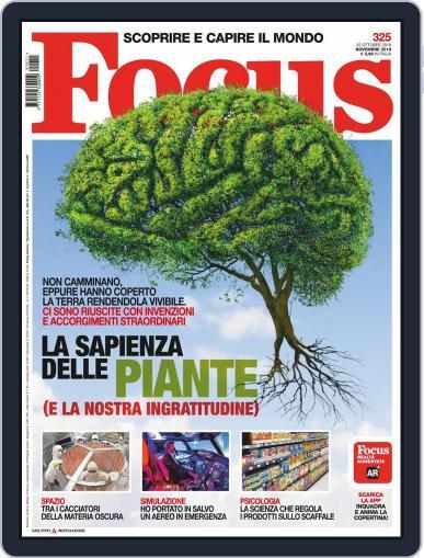 Focus Italia (Digital) November 1st, 2019 Issue Cover