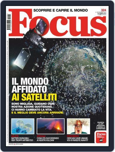 Focus Italia (Digital) October 1st, 2019 Issue Cover