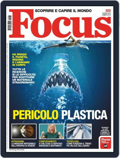 Focus Italia (Digital) August 1st, 2019 Issue Cover