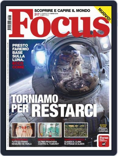 Focus Italia (Digital) March 1st, 2019 Issue Cover