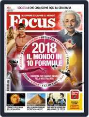 Focus Italia (Digital) Subscription January 1st, 2018 Issue
