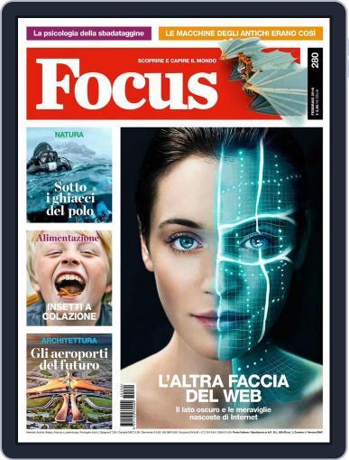 Focus Italia (Digital) January 22nd, 2016 Issue Cover