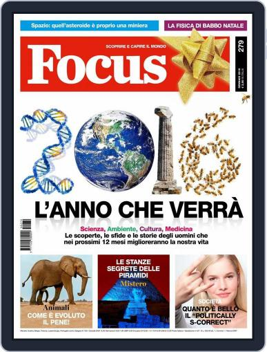 Focus Italia (Digital) December 22nd, 2015 Issue Cover