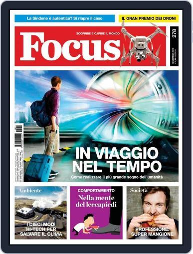 Focus Italia (Digital) November 20th, 2015 Issue Cover