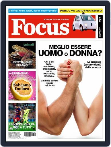 Focus Italia (Digital) October 31st, 2015 Issue Cover