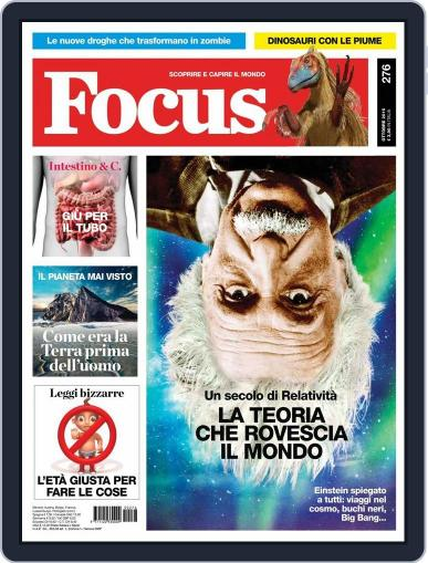 Focus Italia (Digital) September 22nd, 2015 Issue Cover