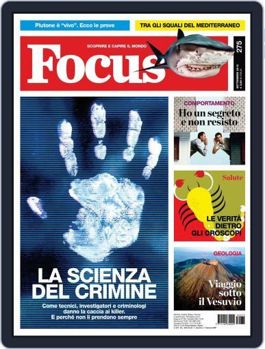 Focus Italia (Digital) September 1st, 2015 Issue Cover