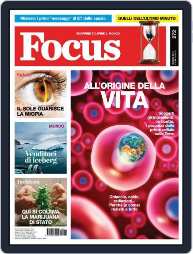 Focus Italia (Digital) May 20th, 2015 Issue Cover