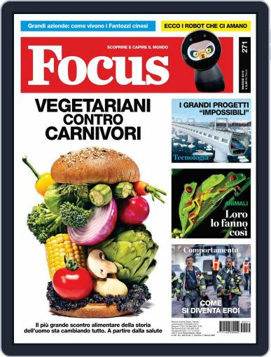 Focus Italia (Digital) April 21st, 2015 Issue Cover