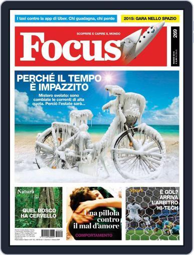 Focus Italia (Digital) February 19th, 2015 Issue Cover