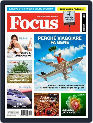 Focus Italia (Digital) July 17th, 2014 Issue Cover