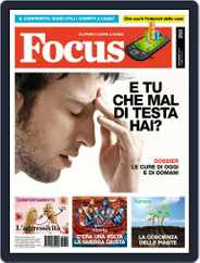 Focus Italia (Digital) Subscription October 21st, 2013 Issue