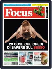 Focus Italia (Digital) Subscription August 13th, 2013 Issue