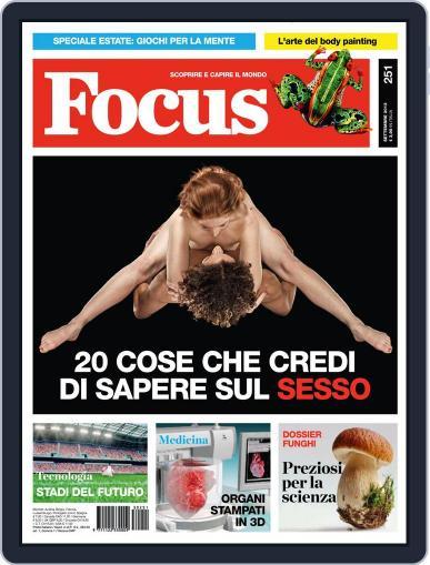 Focus Italia (Digital) August 13th, 2013 Issue Cover