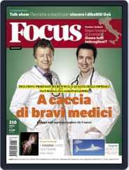 Focus Italia (Digital) Subscription March 31st, 2010 Issue
