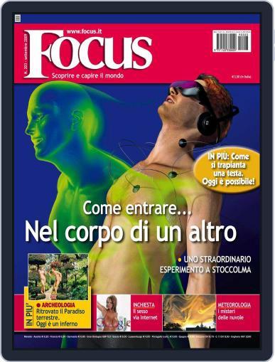 Focus Italia (Digital) August 12th, 2009 Issue Cover