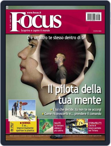 Focus Italia (Digital) July 17th, 2009 Issue Cover