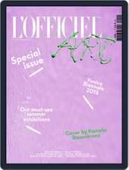 L'officiel Art (Digital) Subscription June 1st, 2015 Issue
