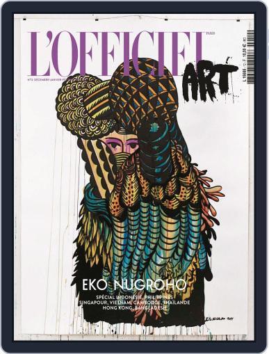 L'officiel Art November 27th, 2014 Digital Back Issue Cover