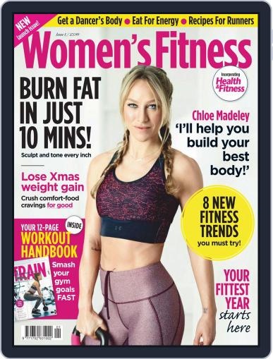 Women´s Fitness January 1st, 2020 Digital Back Issue Cover
