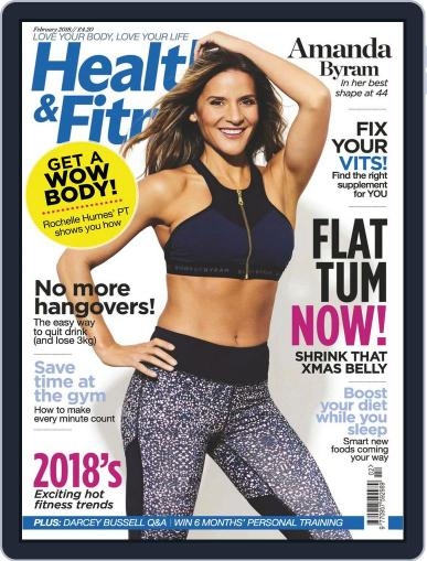 Women´s Fitness February 1st, 2018 Digital Back Issue Cover