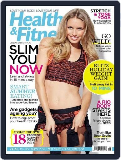 Women´s Fitness July 27th, 2016 Digital Back Issue Cover